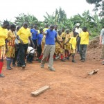 Peak Active Sport's Mark Jennings in Uganda