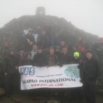 PAS & Friends on Snowdon summit