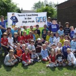Kids at a Peak Active Sport Holiday camp